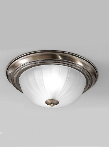 Franklite CF5643 Bronze Flush Light